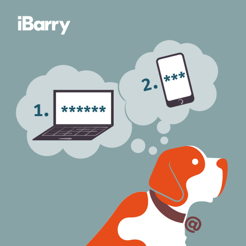 iBarry: 2-Step Veryfication.